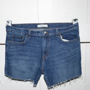 Levi's womens cut off shorts size 14 -211-